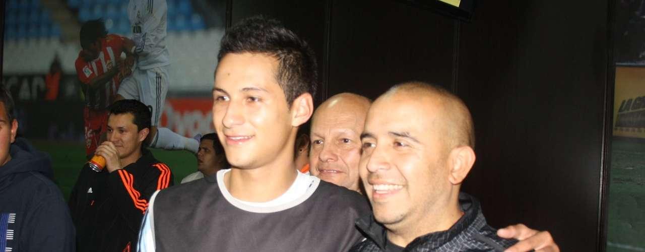 Andrés Villamil, una de las promesas de Independiente Santa Fe.