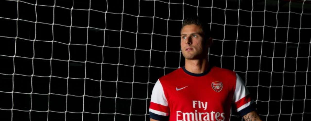 Olivier Giroud, quien brilló la temporada pasada con el Montpellier, es la gran apuesta de Arsene Wenger en el Arsenal.