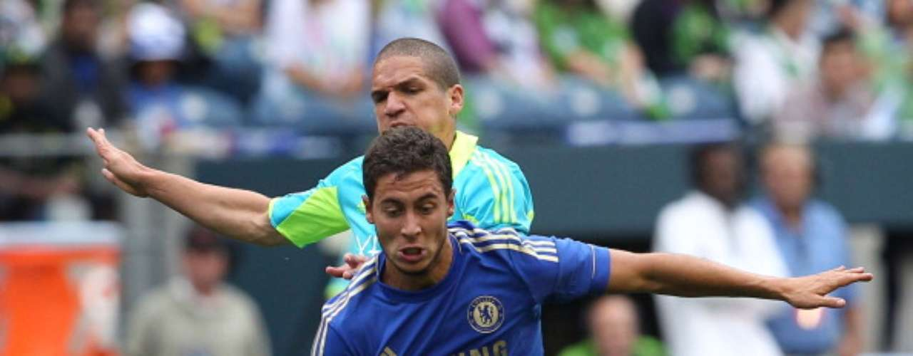 El belga Eden Hazard, ahora ex del Lille, protagonizó una de las novelas del verano; terminó firmando con el Chelsea.