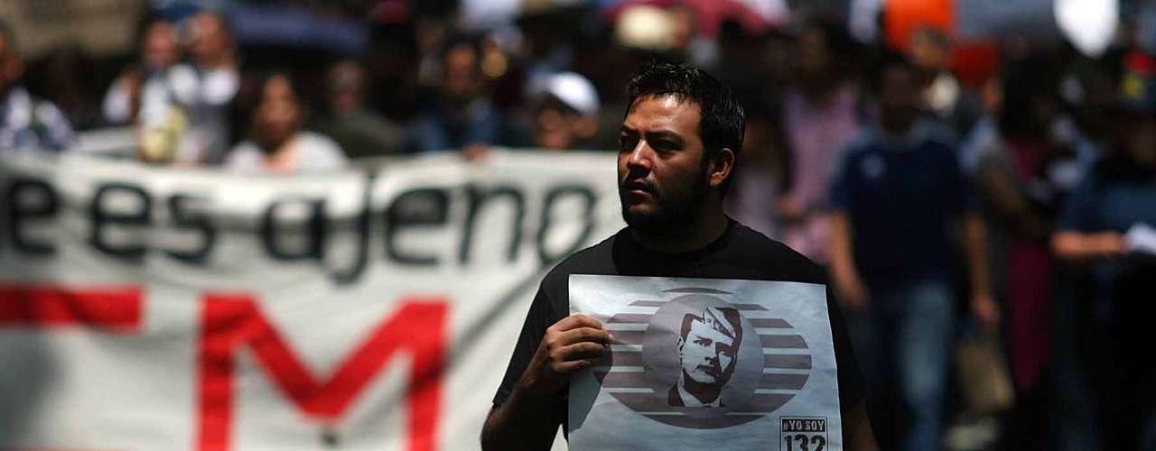 El movimiento estudiantil irrumpió con fuerza en la campaña electoral previa a los comicios del 1 de julio a partir de críticas contra Peña Nieto
