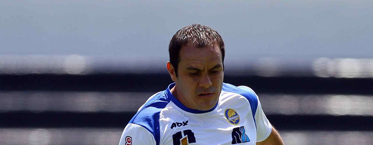 Cuauhtemoc Blanco is one of the biggest stars in Mexican Soccer but he seems content to play with the Promotional League with Dorados.