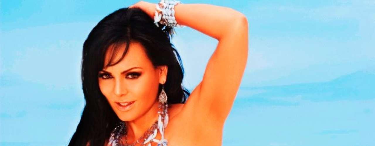 Maribel Guardia se coronó como la extranjera más sexy del espectáculo mexicano, en una lista realizada por la página TVNotas.com.