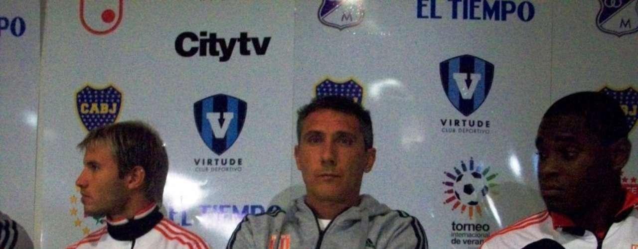 Diego Cagna, Director Técnico de Estudiantes de La Plata de Argentina.