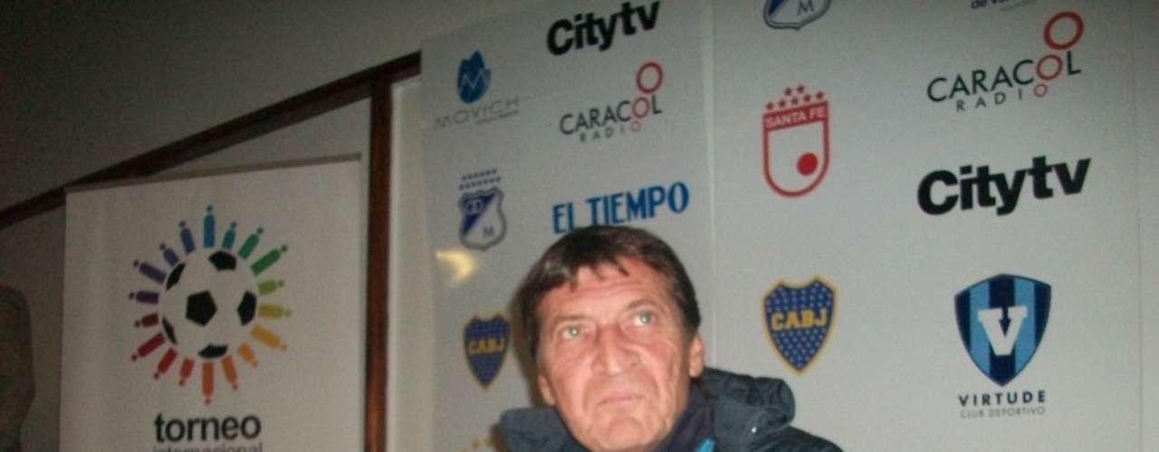 Julio César Falcioni, Director Técnico del Boca Juniors de Argentina.