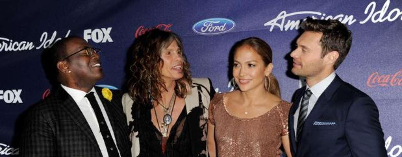 Con su innato talento J.Lo fue por dos temporadas una de las jurados de 'American Idol'. Hace pocos días renunció para retomar su carrera en el cine.