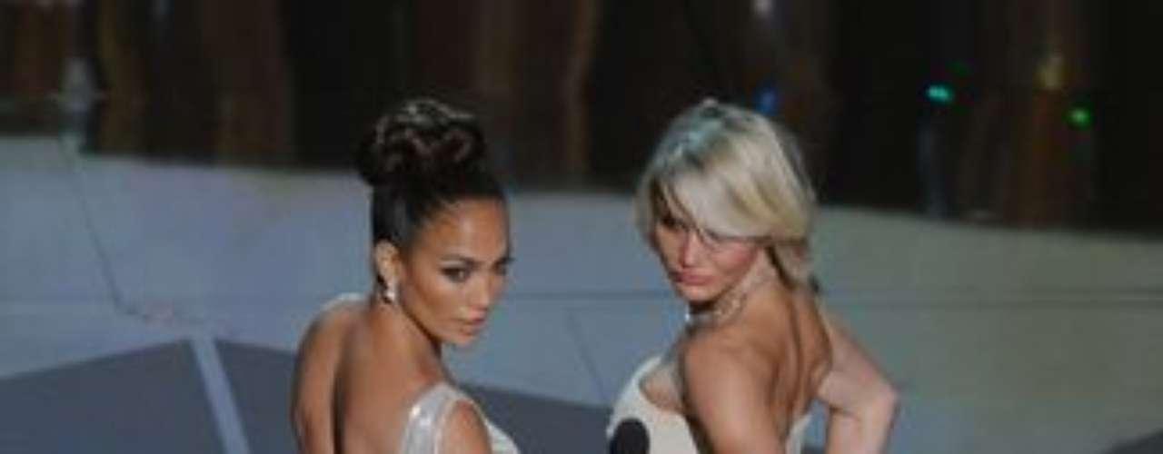 Este año, Jennifer Lopez estrenó junto a Cameron Diaz la película 'What To Expect When You're Expecting'.