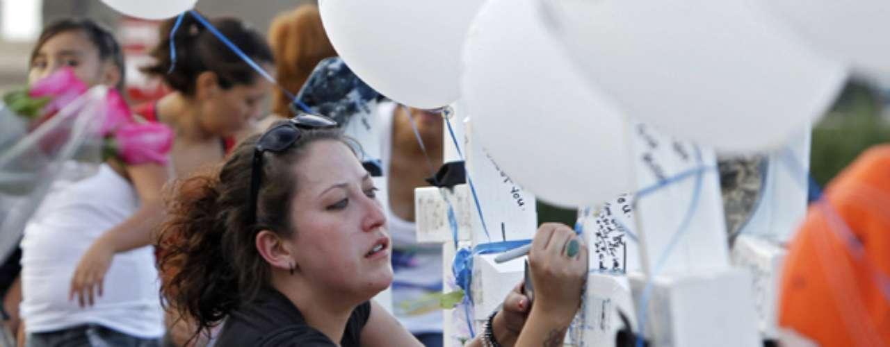 Veronica Moser-Sullivan: La víctima más pequeña de la masacre. Tenía tan solo seis años de edad.