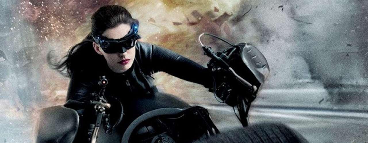 Momento favorito de 'Cat Woman': cada vez que se monta en la motocicleta que le presta Batman y también cada vez que demuestra su flexibilidad felina en los combates cuerpo a cuerpo.