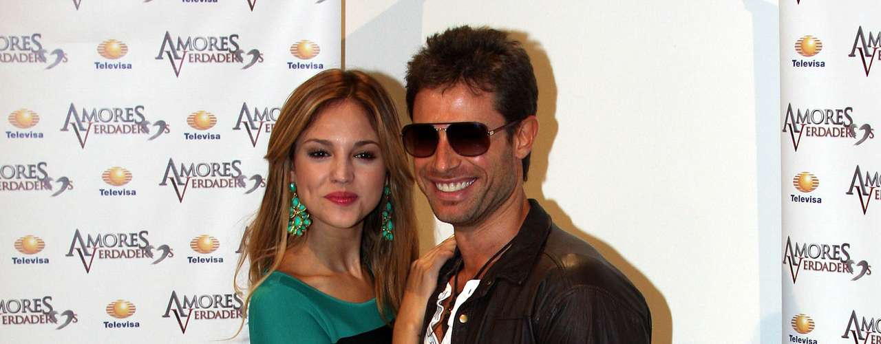 Sebastian Rulli knows Eiza Gonzalez from his modeling days as he was signed on to Eiza's mother's modeling agency.