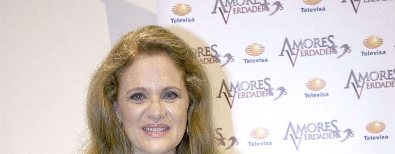 Erika Buenfil is 'Victoria Balvanera' on 'Amores Verdaderos.'