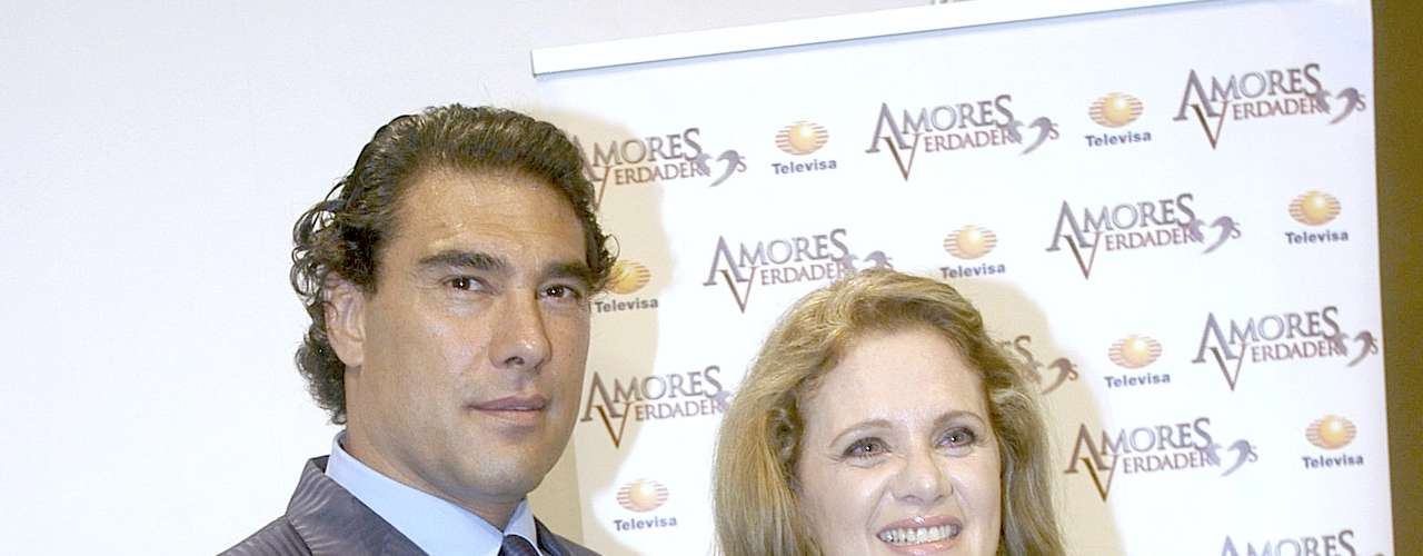 Erika Buenfil and Eduardo Yañez are the older couple in this remake of 'Amor En Custodia.'
