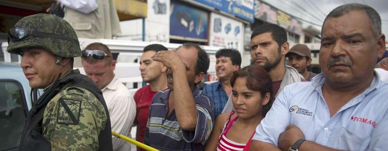 En julio de 2011, dos policías fueron asesinados en Culiacán, Sinaloa. Y aunque la historia se repite frecuentemente, no deja alarmar a la población.