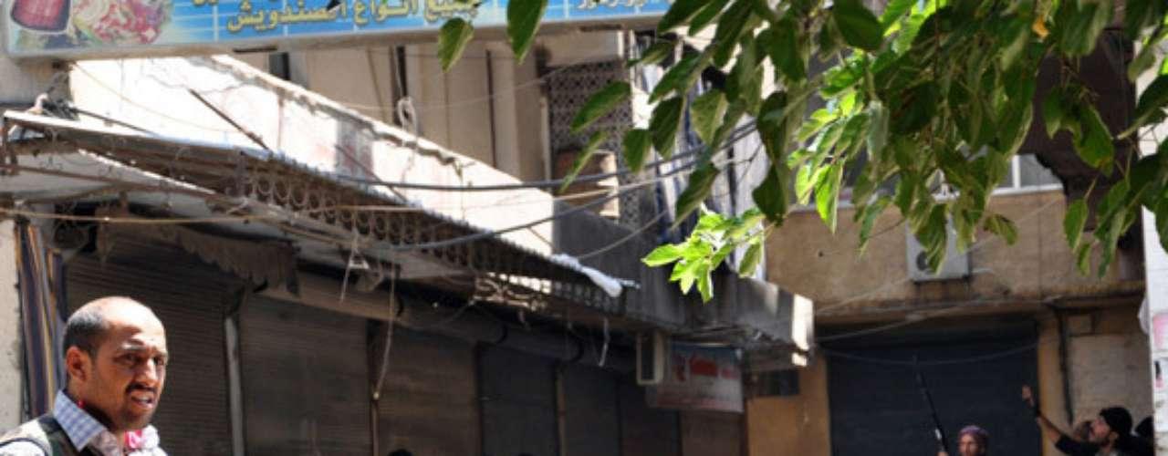28 de julio de 2012: Comienza la batalla de Alepo, que ambos frentes consideran clave en el desarrollo del conflicto.