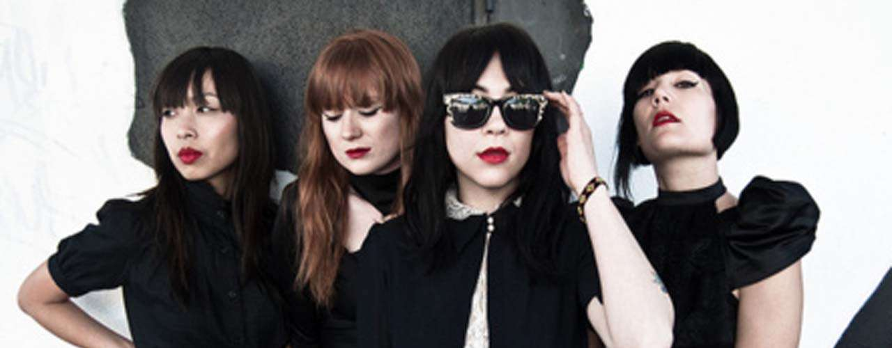 El sexi cuarteto Dum Dum Girls incluirá en su repertorio parte de su segundo disco de estudio, 'Only In Dreams'.