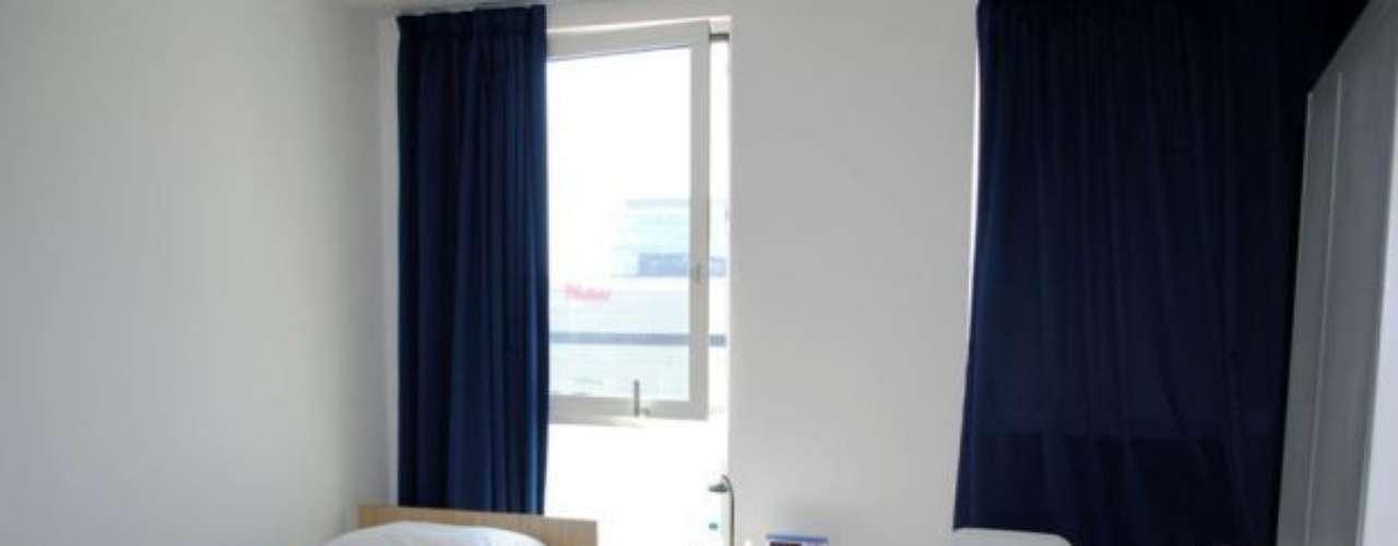 'Interior de las habitaciones de la Villa Olímpica Londres 2012!' (Facebook Patronato ADO Perú)