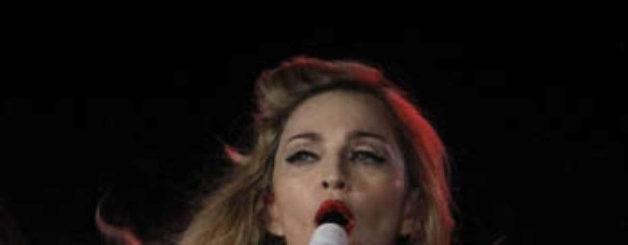 Con esta gira Madonna promociona el álbum \