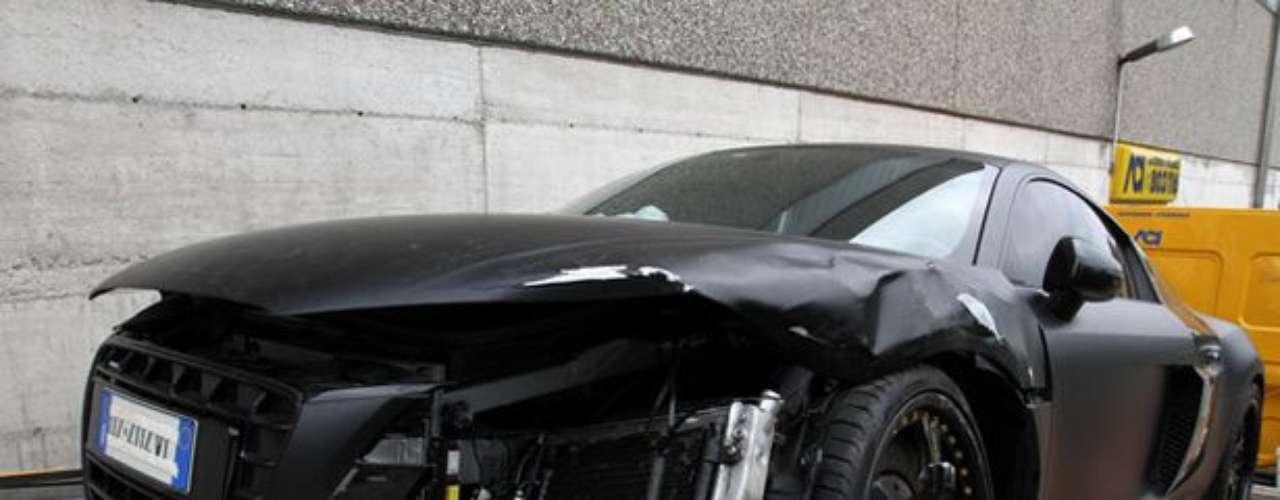 Apenas llevaba dos semanas en el Manchester City, cuando chocó su auto en la ciudad.
