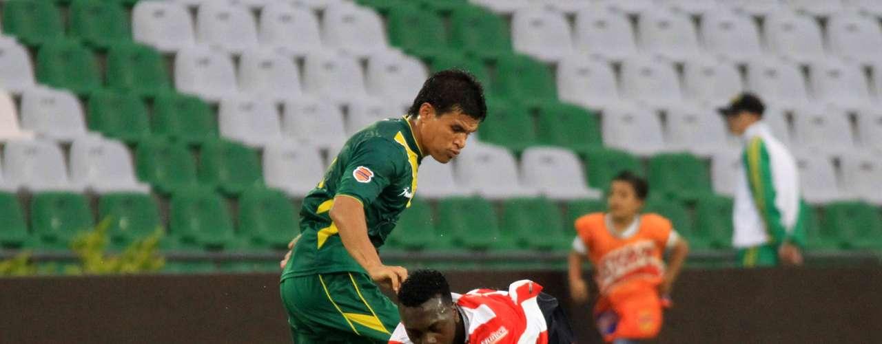 Quindío y Junior igualaron 0-0 en el estreno de ambos equipos en la Liga Postobón II.