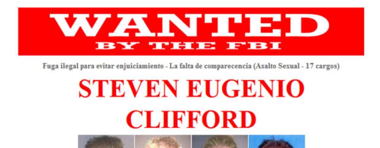 Steven Eugene Clifford es buscado por presuntas agresiones sexuales contra once víctimas desde 1998 hasta 2002. Clifford era un quiropráctico con licencia que operaba una oficina en Carnelian Bay, California. Se sabe que LR gusta disfrutar de paseos en barco, camping y motocicletas. Además consume alcohol en exceso y frecuenta clubes nocturnos.