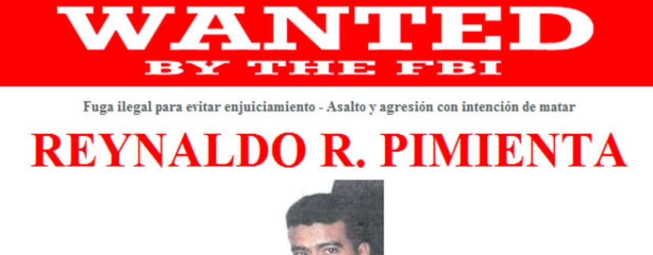 Reynaldo R. Pimienta presuntamente disparó a su exnovia en Mauldin, Carolina del Sur. El 11 de mayo de 2000, la víctima fue encontrada en su coche con una herida de bala en el abdomen. Como resultado de las lesiones, su expareja se encuentra paralizada del cuello hacia abajo. Se cree que Pimienta ha servido en las fuerzas armadas en Colombia. Él no tiene la ciudadanía estadounidense.