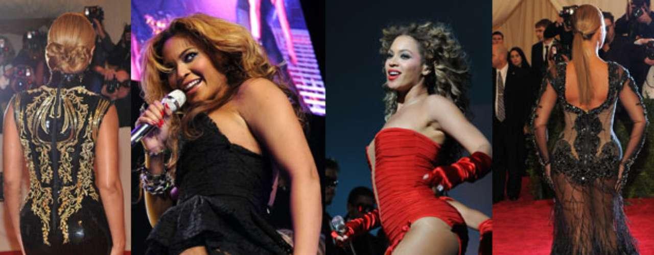 Con provocadores atuendos, la esposa de Jay-Z, conquista al público en sus conciertos y apariciones públicas.