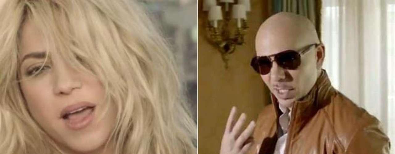 Shakira con la magia de sus curvas seduce y hechiza al público, en el recién estrenado videoclip de Pitbull \