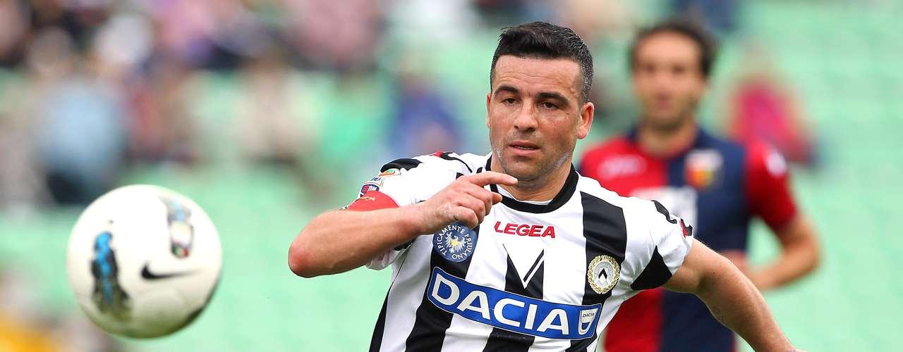ANTONIO DI NATALE: El delantero de Udinese \