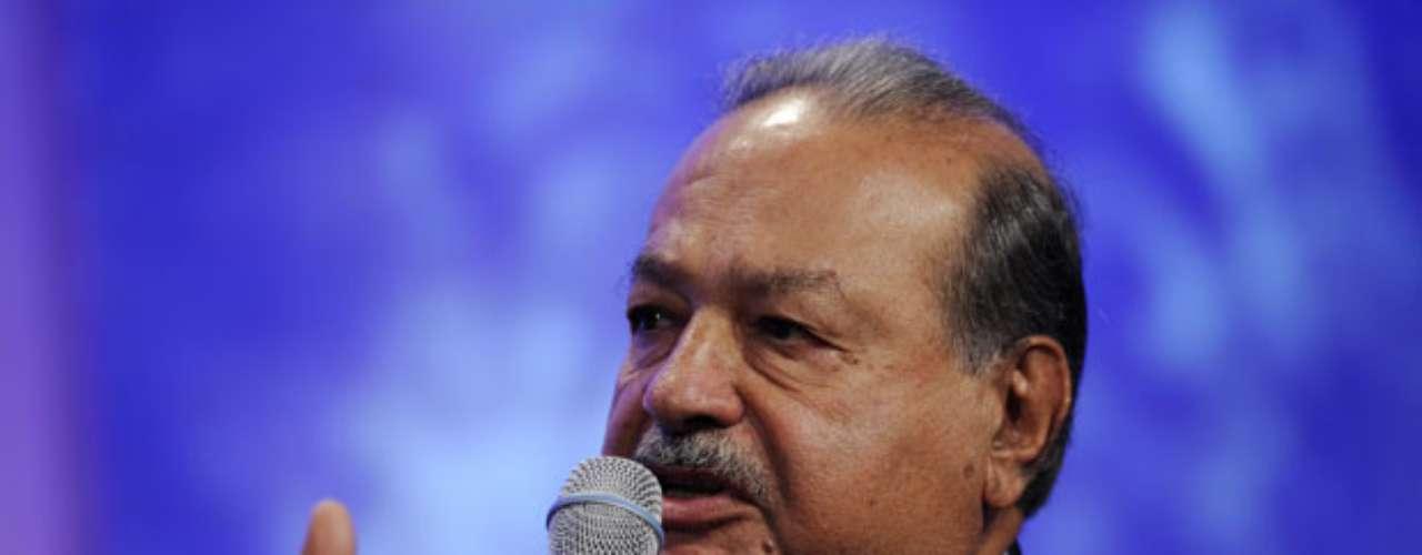 Con una fortuna de $69 mil millones de dólares, Carlos Slim se ubica como el hombre más rico del mundo, según la revista Forbes, honor que ha mantenido en los últimos años.