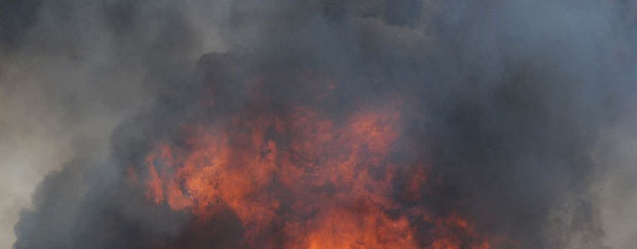 En este caso, las llamas se dirigían hacia la localidad de Norman, donde se encuentra la Universidad de Oklahoma.