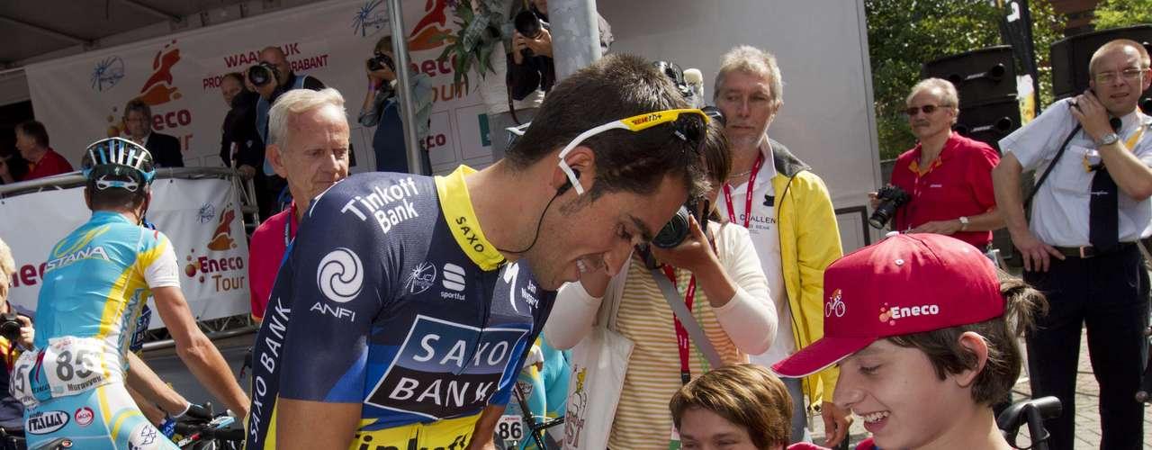 Contador se reincorpora a poco más de 10 días de que comience la Vuelta a España.