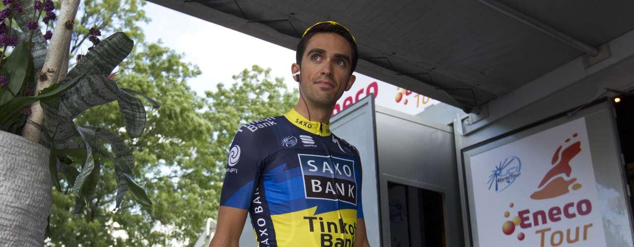 El ciclista reapareció en el Eneco Tour que se disputará desde el 6 de agosto hasta el 12 de agosto, entre Holanda y Bélgica.
