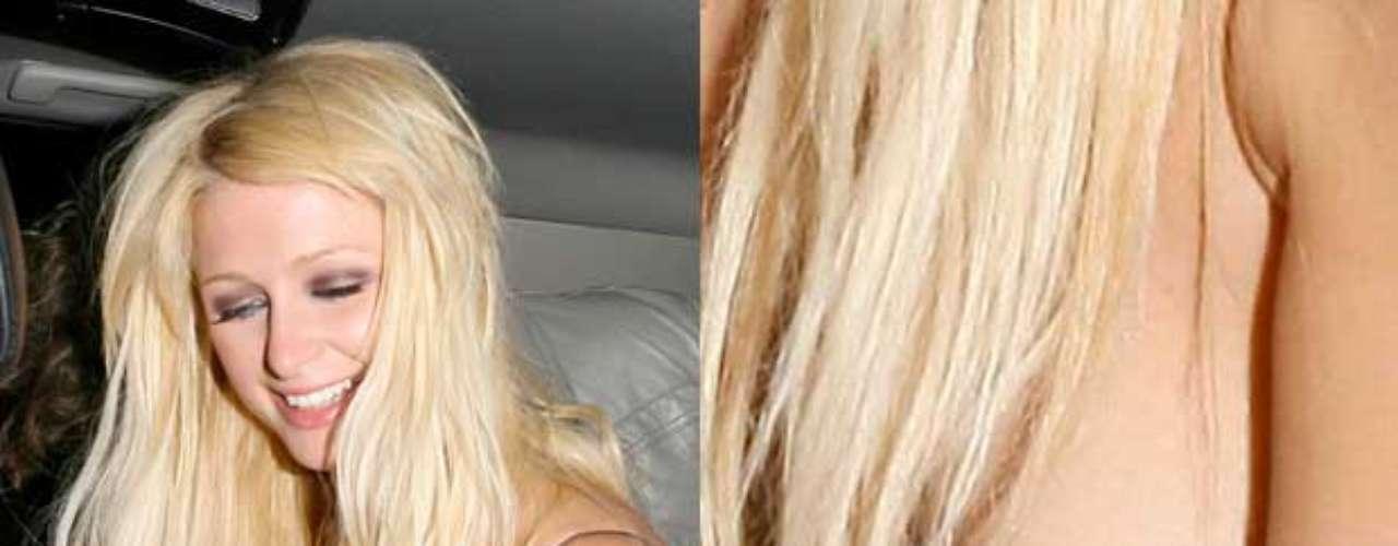 Paris Hilton es una de las Top es el tema de los descuidos. No hay 'sarao' en el que no se desmelene.