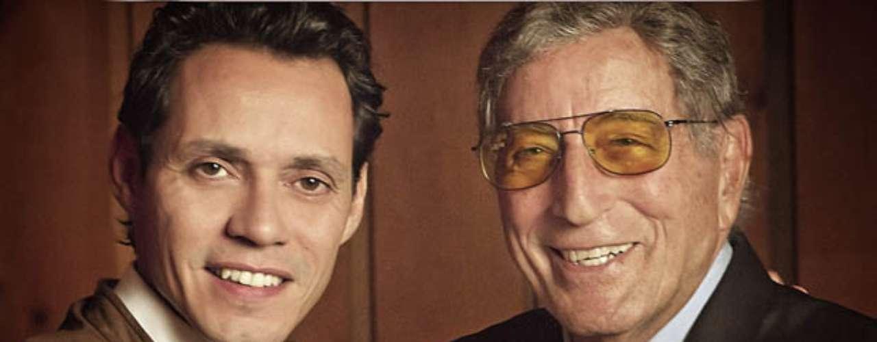 Tony Bennett ft. Marc Anthony. El ex esposo de J. Lo es una de las grandes estrellas latinas que colabora con Bennett en el álbum \