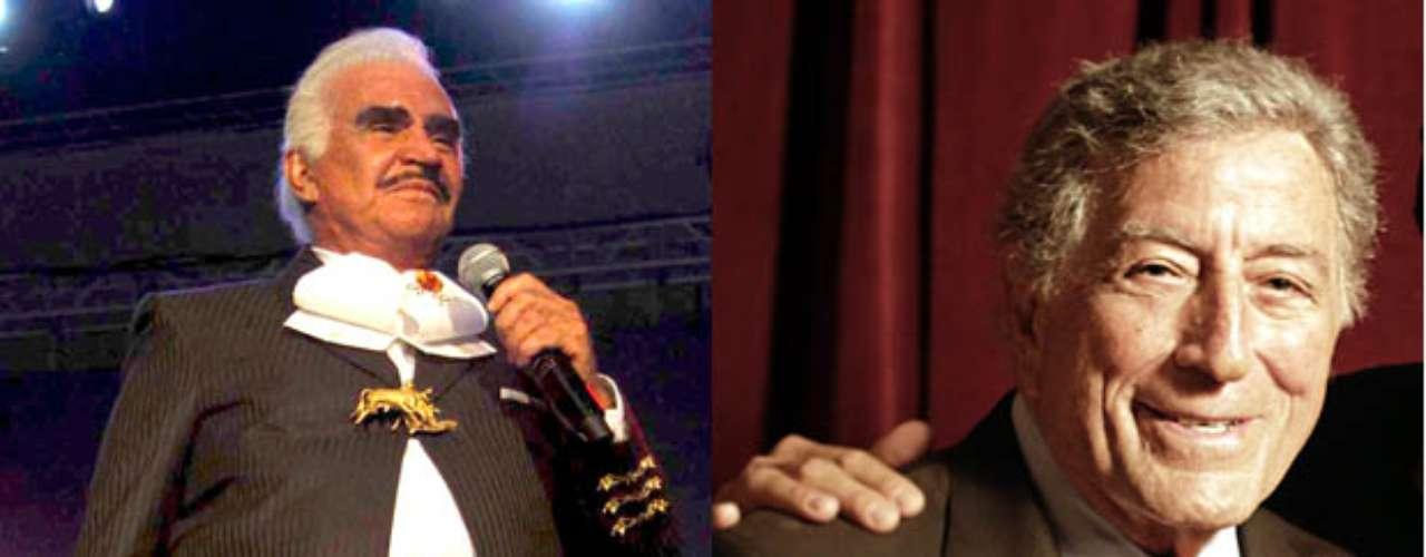 Vicente Fernández canta a dúo con Tony Bennett la canción \