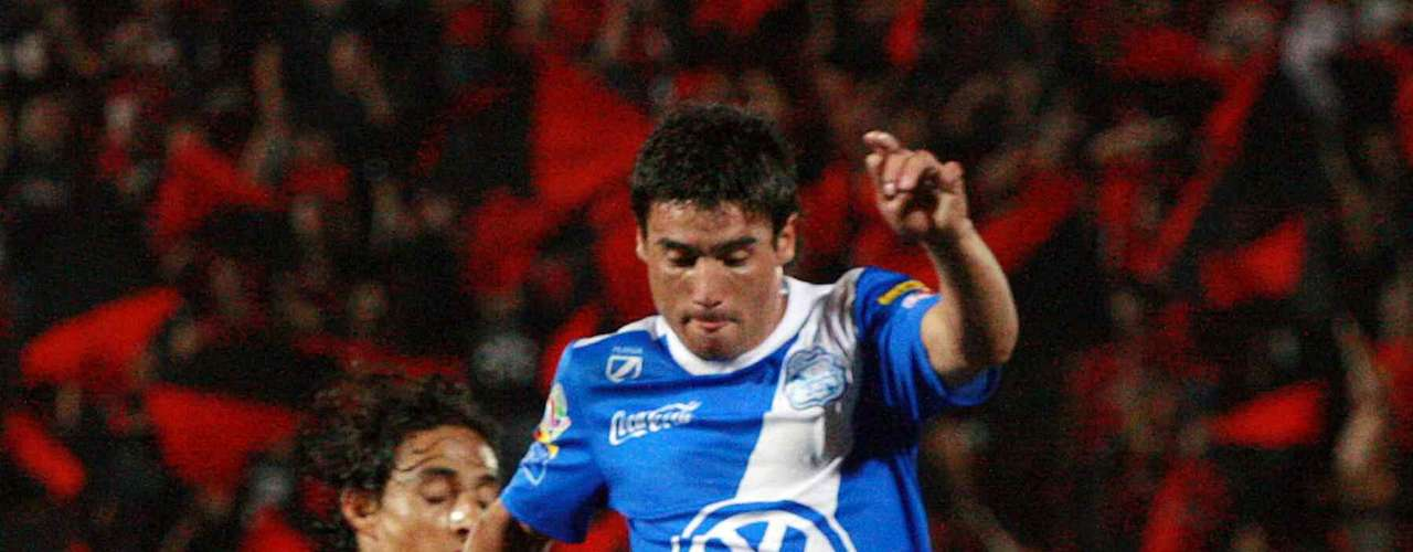 Matias Alustiza hopes to be the top scorer for Puebla after scoring a brace in the 2-2 tie against Santos.