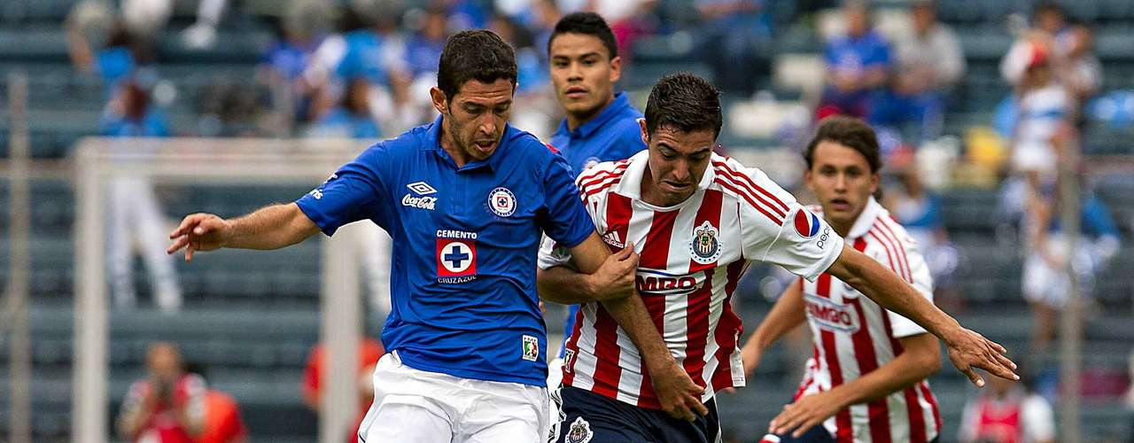 Israel Castro has become a permanent starter with Cruz Azul and will be in charge of organizing the teams attack.