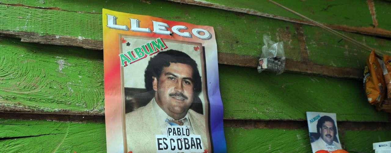 El cuadernillo reproduce el nombre de la telenovela sobre el capo que desde hace algunos meses alcanza altos niveles de audiencia en en país.