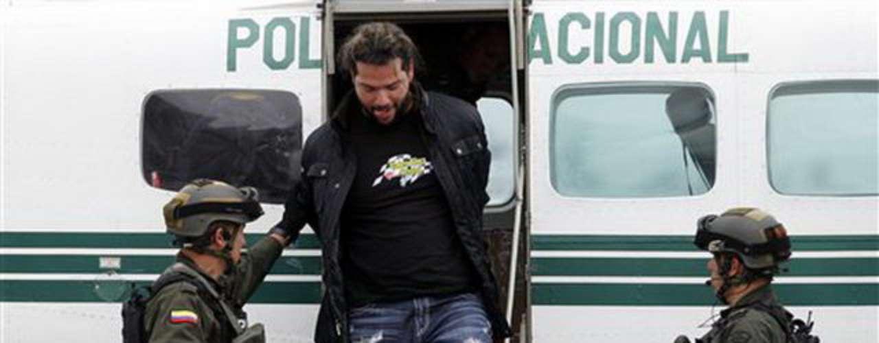 Pero según el ministro de Defensa colombiano, Juan Carlos Pinzón, con la captura este miércoles de Erickson Vargas Cardona, alias \