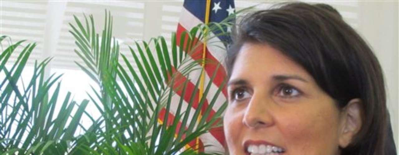 La gobernadora de Carolina del Sur, Nikki Haley, quizás sea una sorpresa.