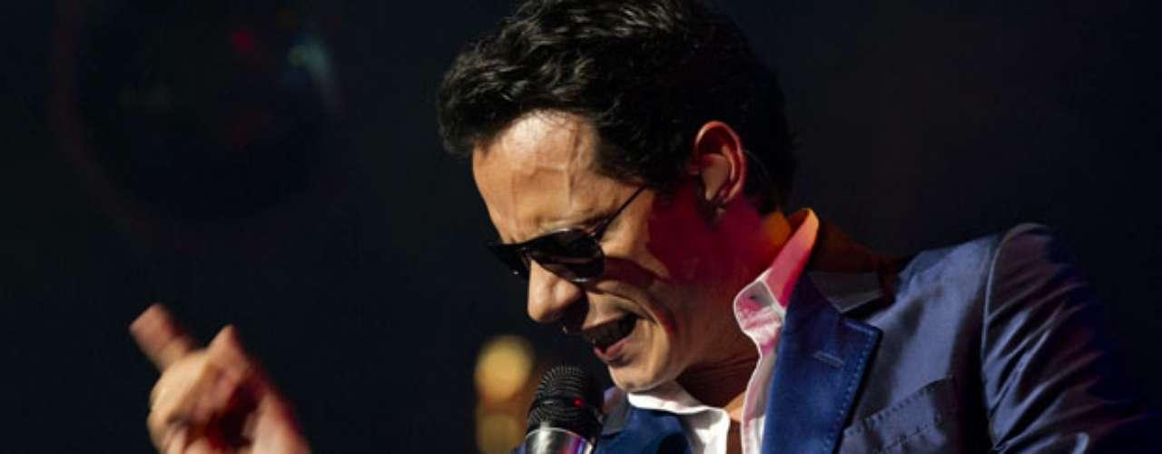 Marc Anthony es el encargado de cerrar el show de estas grandes estrellas latinas.