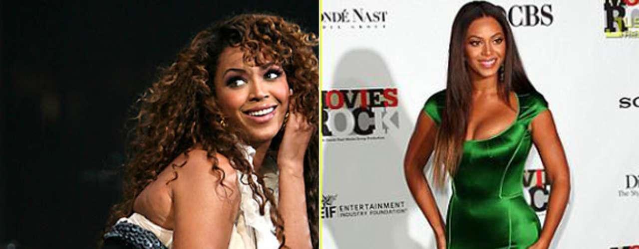 Beyoncé a estado en lso lados de la balanza. La cantante ha asegurado que cuando pequeña sufria por su gordura por eso se cuida y realiza ejerccio constamente para mantener su cuerpo en forma.