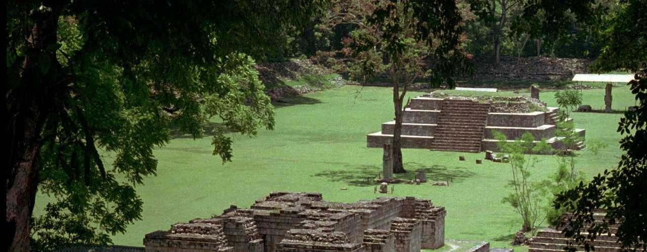 La ciudad de Copán en Honduras, donde se encuentran las ruinas mayas podría ser uno de los escondites de \