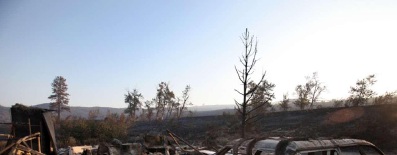 Hasta este miércoles, se habían reportado 42.933 incendios forestales en Estados Unidos esta temporada, los cuales han quemado 2,6 millones de hectáreas (6,4 millones de acres).
