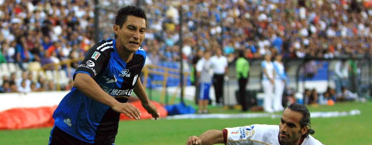 Emilio López está siendo de los jugadores clave de Querétaro.