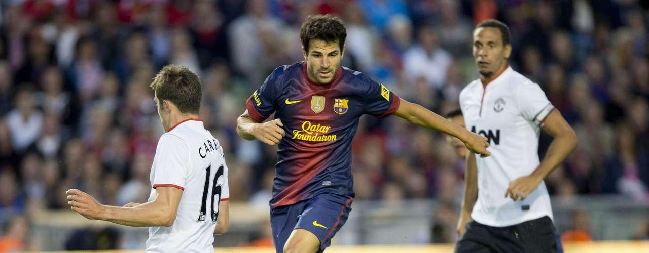 Cesc Fàbregas se reencuentra con su equipo de siempre, el FC Barcelona, para la nueva temporada 2012-2013.