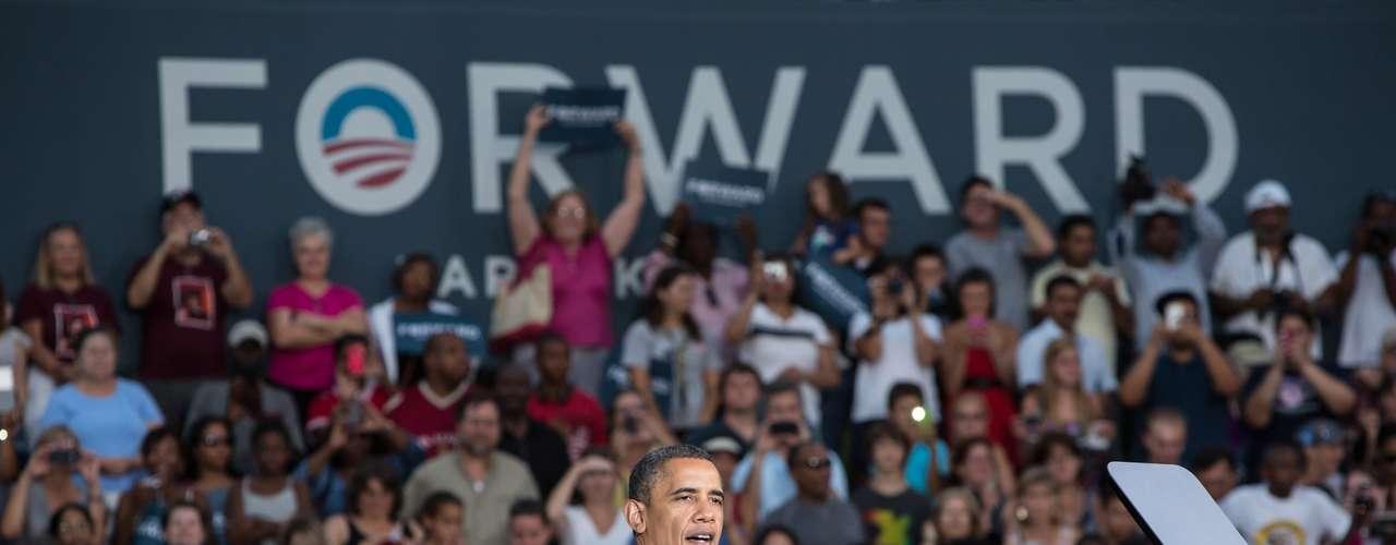 Pero Obama está muy seguro de su victoria desde diciembre de 2011 cuando dijo a sus seguidores, Sigan siendo obstinados. Si ustedes no decaen, si son constantes, ganaremos\