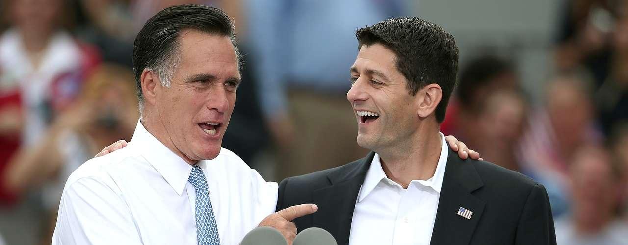 El compañero de fórmula de Mitt Romney, Paul Ryan, parece también estar convencido de que los republicanos vencerán en noviembre.  Vamos a ganar esta campaña. Tenemos el viento en nuestras espaldas, sostuvo.