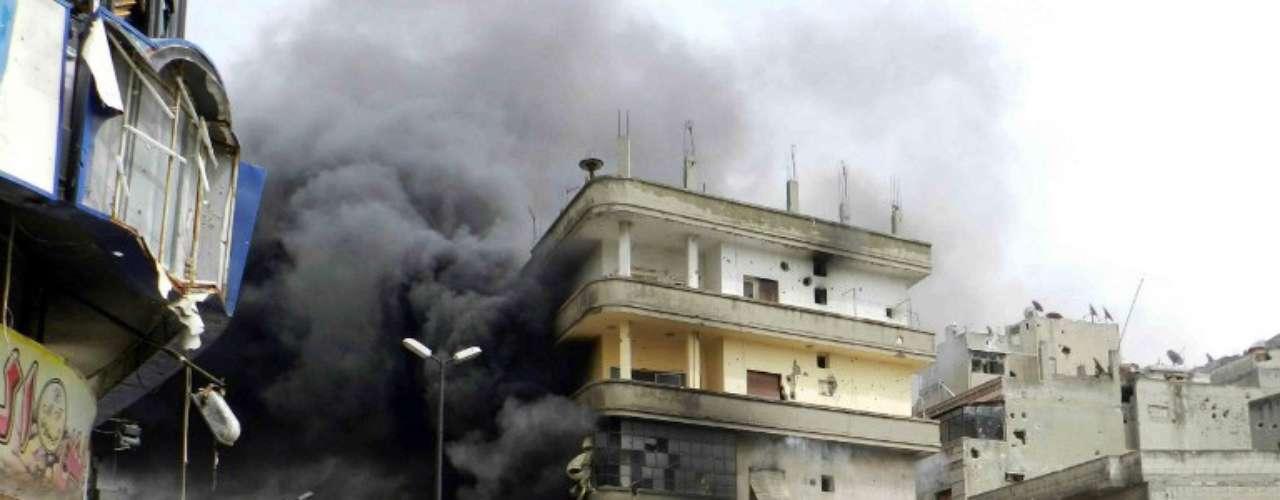 1 de marzo de 2012: las tropas sirias controlan Baba Amr tras semanas de bombardeos.