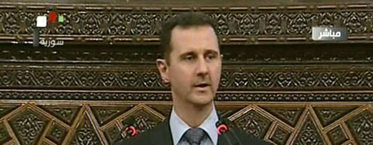 21 de abril de 2011: Bashar Al Asad deroga la Ley de Emergencia.