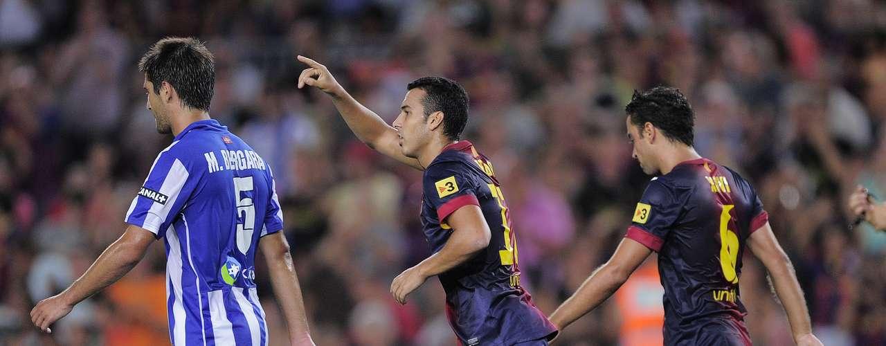 El fútbol generado por el Barcelona no le dio la más mínima oportunidad a la Real Sociedad.